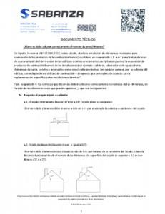 Recomendaciones e instrucciones de colocación de remates de chimenea