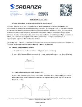 Ficha Técnica: instrucciones de instalación de remates de chimenea