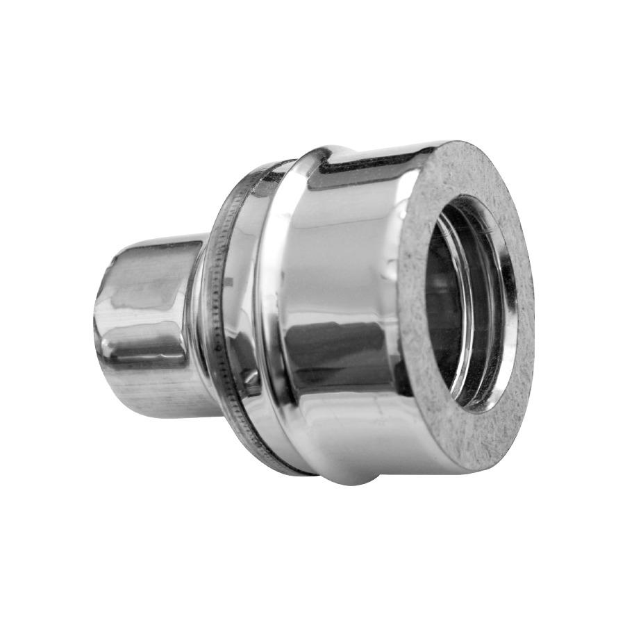 Adaptador simple-doble Doble Pared Inox-Galva A-304/Z-275