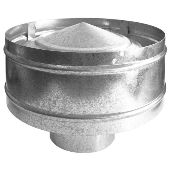 Deflector Modelo B3 Antirrevoco Galvanizado ESTÁTICO – DEFLECTORES