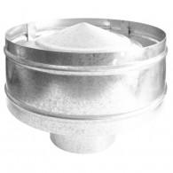 Baffle static model B-3 Antirrevoco gloss/Matt stainless steel or galvanized