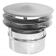 Baffle static model D zinc plated or enamelled