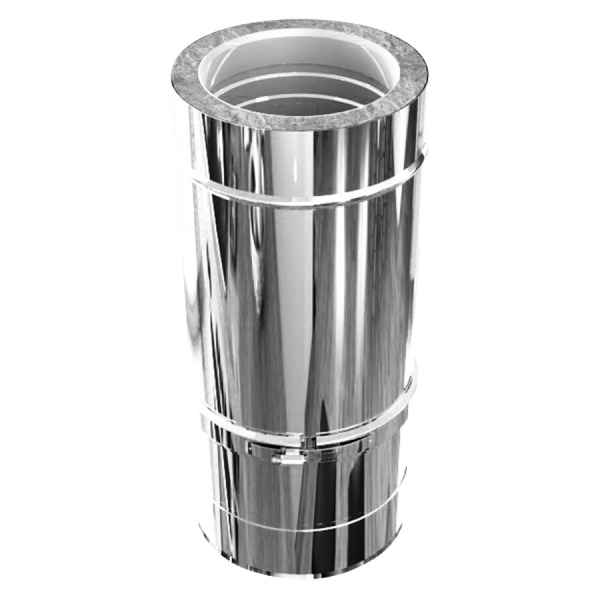 Módulo Extensible 250-500mm Doble Pared Inox-Inox A-304/A-304