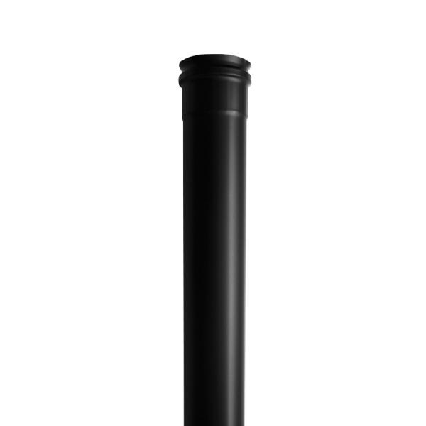 Módulo Recto 1000mm Simple Pared Vitrificado Negro Fonté 1,5mm