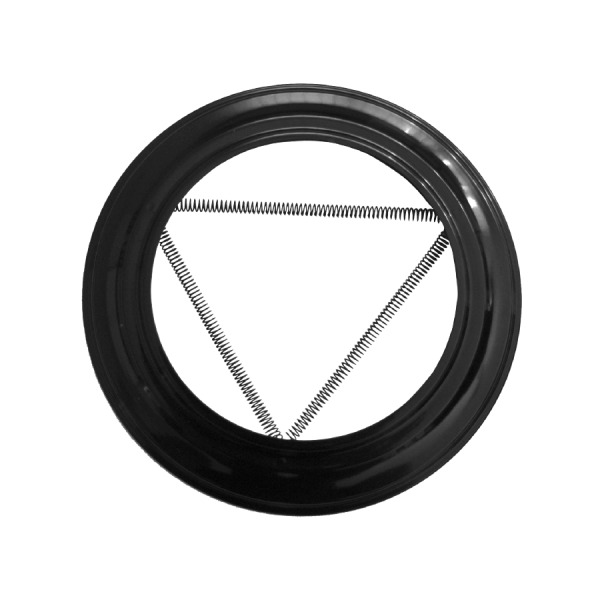 Plafón Simple Pared Vitrificado Negro Fonté 1,5mm