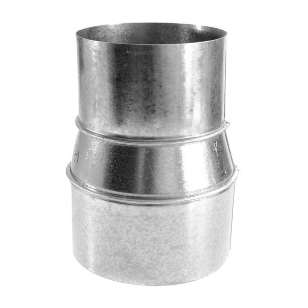 Reducción-Ampliación Simple Pared Inox A-304 MATE