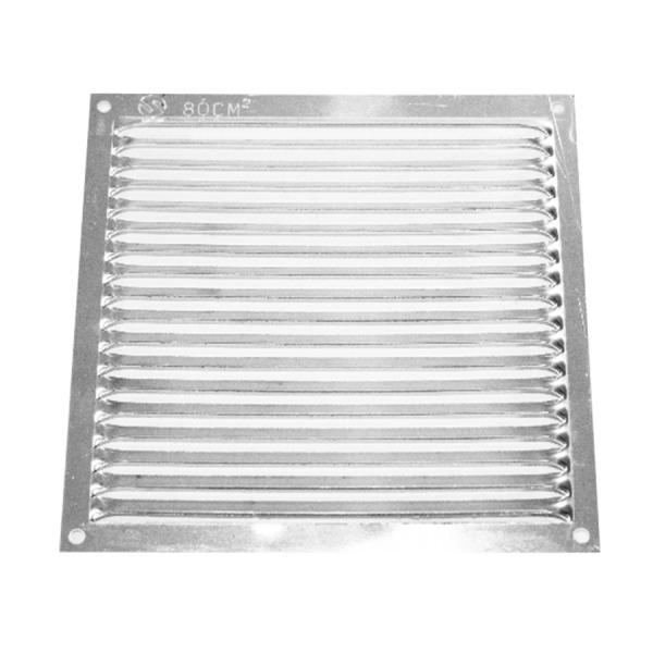 Rejilla Aluminio Plana 100 x 100 mm REJILLAS VENTILACIÓN