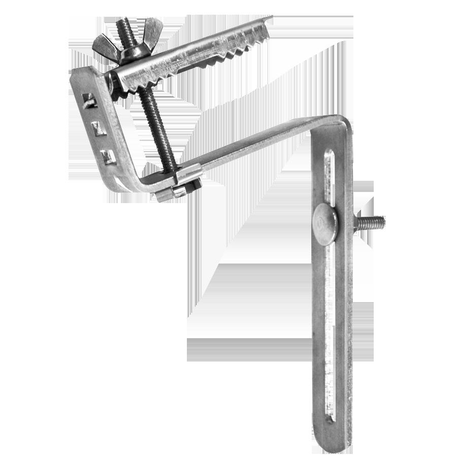 FT: Instrucciones montaje soporte metalico curvado regulable