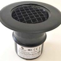 Terminal rejilla  para canalización aire estufas de pellet