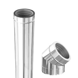 Twin wall Inox-Inox A-316L/A-304