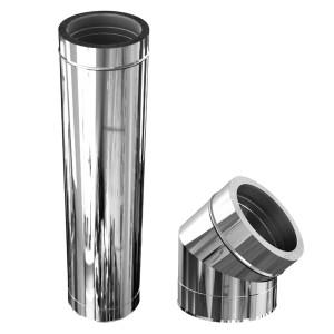 Twin wallInox-Inox A-304/A-304