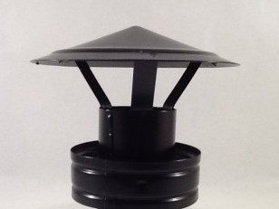 Deflector Vitrificado Negro
