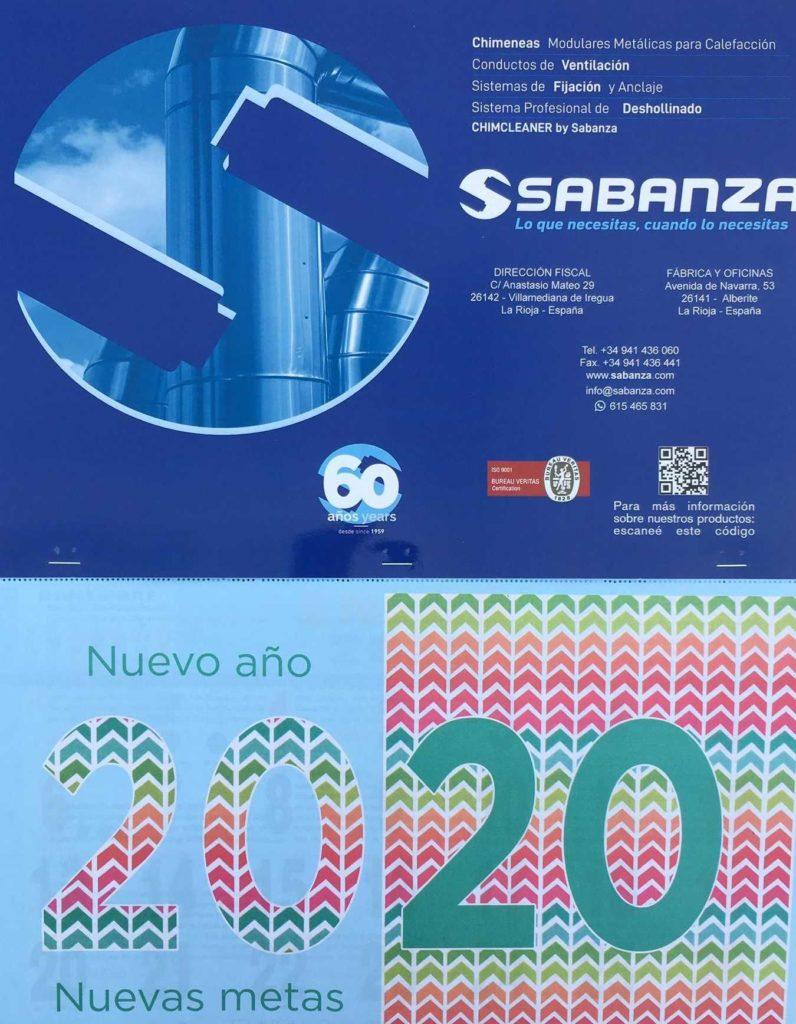 Desde Sabanza os deseamos un fantástico año 2020
