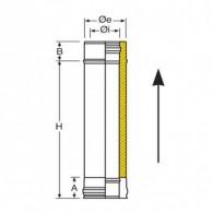 Module droit 500 mm
