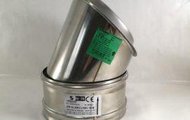 Acoples compatibles con chimeneas modulares Negarra