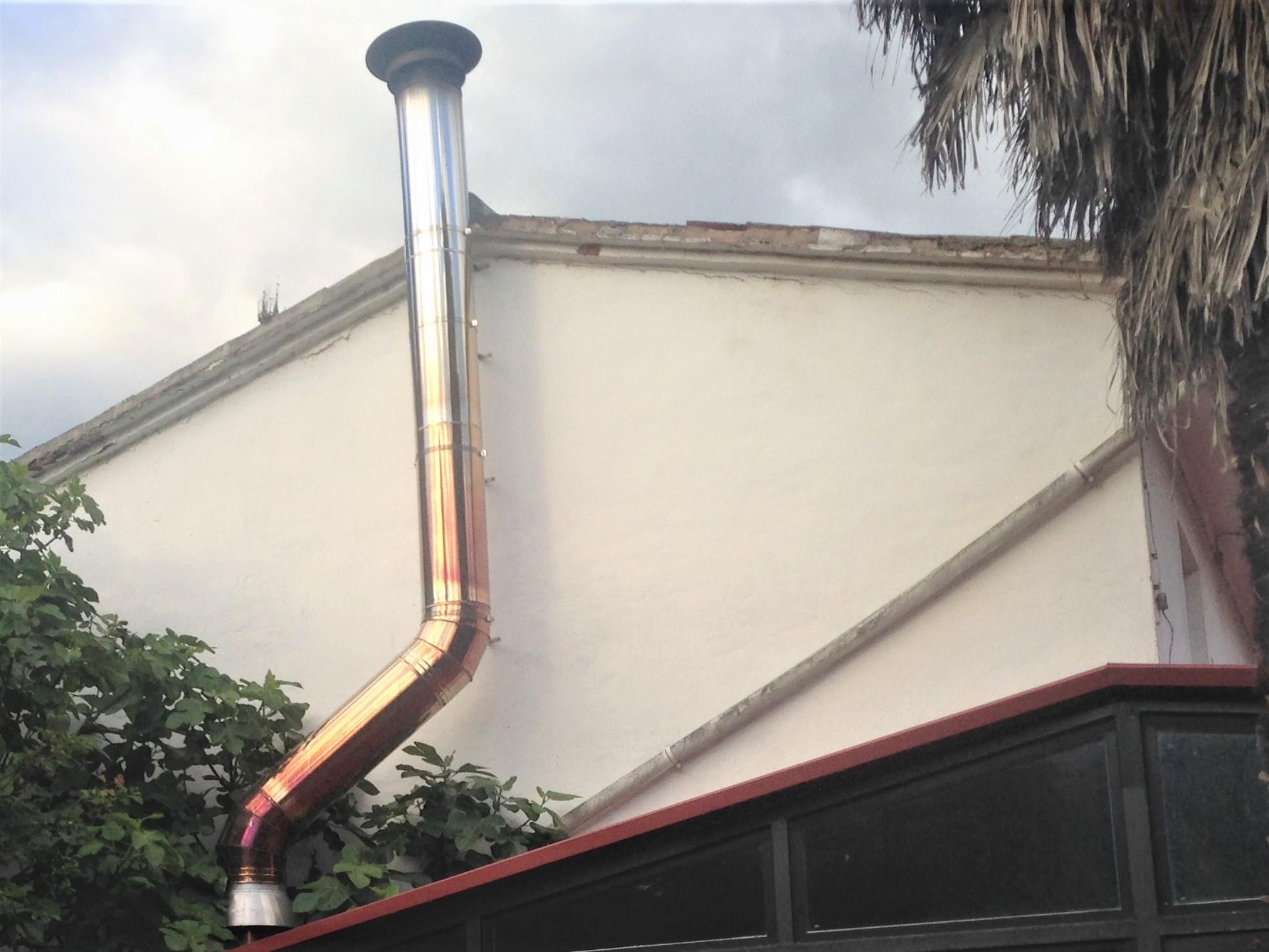 Por qu sufren cambios de aspecto los tubos de acero - Tubo de acero inoxidable para chimeneas ...