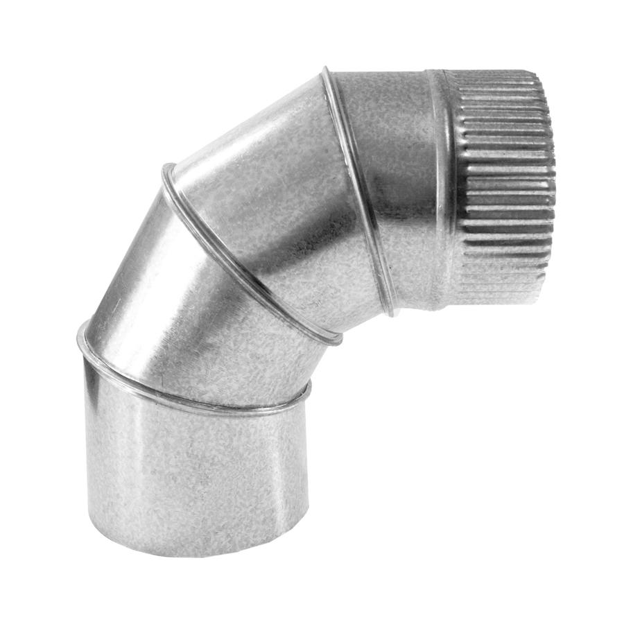 Codo a 90º TG089 Simple Pared Galvanizado Z-275