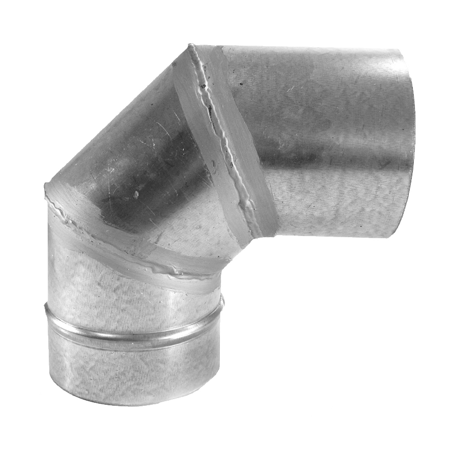 Codo a 90 Simple Pared Galvanizado Z-275
