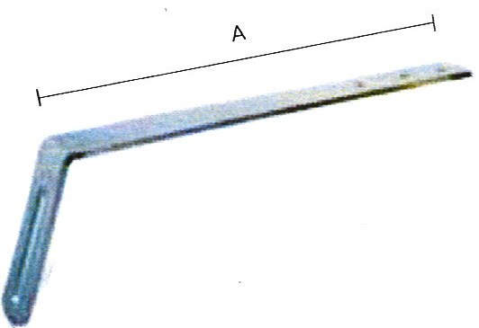 croquis soporte metalico