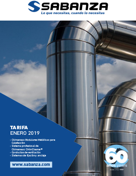 Presentación  nuevo Catálogo-Tarifa Sabanza 2019